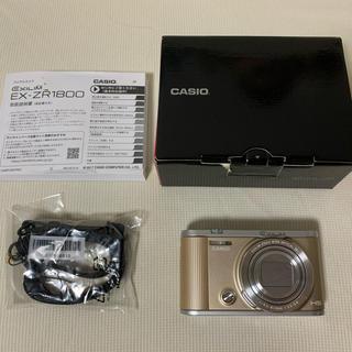 カシオ(CASIO)のCASIO EXILM EX-ZR1800(コンパクトデジタルカメラ)