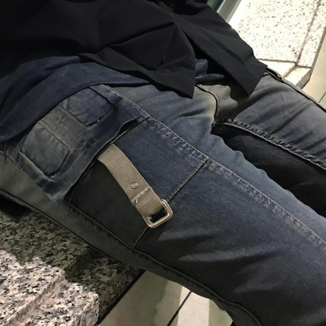 Rick Owens(リックオウエンス)の本日限定価格 T-pablow着用 DRKSHDW メンフィスデニム  メンズのパンツ(デニム/ジーンズ)の商品写真
