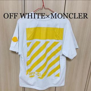MONCLER - OFF WHITE×MONCLER  Tシャツ
