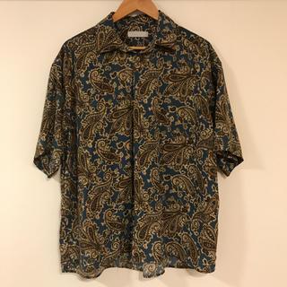 センスオブプレイスバイアーバンリサーチ(SENSE OF PLACE by URBAN RESEARCH)のペイズリーシャツ(5部袖)(シャツ)