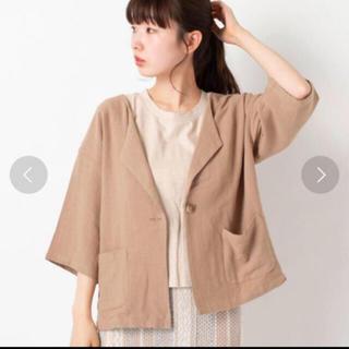 カスタネ(Kastane)のリネン7分袖シャツジャケット(シャツ/ブラウス(長袖/七分))