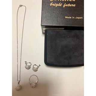 ミツコシ(三越)の三越 ネックレス イヤリング 指輪 ジュエリー リング キラキラ  ストーン(ネックレス)