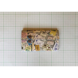 紙モノ(ジャンクジャーナル、コラージュ素材)(その他)