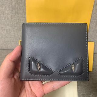 フェンディ(FENDI)のフェンディ 折りたたみ財布 メンズ  二つ折り財布 FENDI(折り財布)