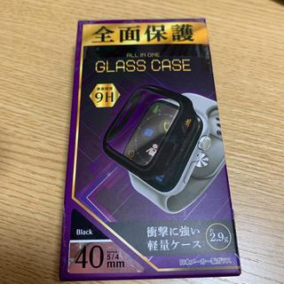アップルウォッチ(Apple Watch)のApple Watch GLASS CACE series4/5 40mm(保護フィルム)