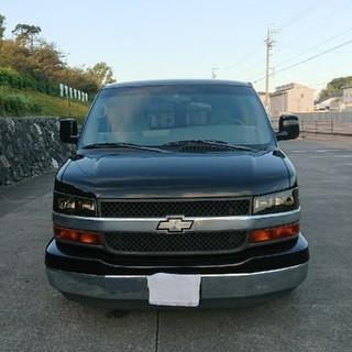 Chevrolet - シボレー、エクスプレス,2005年、ローダウン、リア3面観音扉