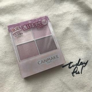 CANMAKE - 新品 ♡ CANMAKE 限定 シルキースフレアイズ 05