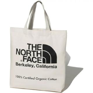 THE NORTH FACE - 【エコバッグにも】THE NORTH FACEオーガニックコットントート 黒