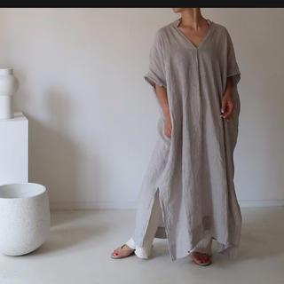 Ron Herman - argue enshu nada Linen Caftan Dress