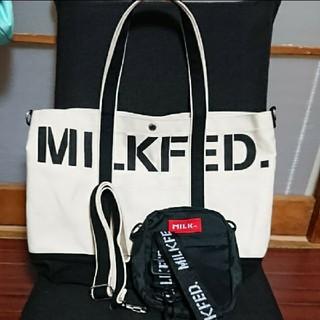 MILKFED. - milkfed.2wayショルダー&ミニショルダー2点セット