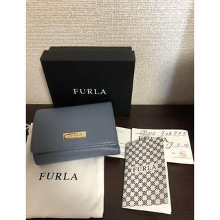 フルラ(Furla)のFURLA フルラ ミニ財布 ライトブルー(財布)