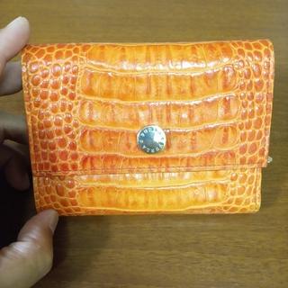 フルラ(Furla)のFURLA 財布 クロコダイル、カイマン型押し(財布)