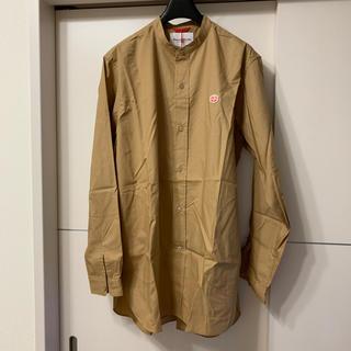 ダントン(DANTON)の新品未使用 Vincent et Mireille  バンドカラーシャツ 40(シャツ)