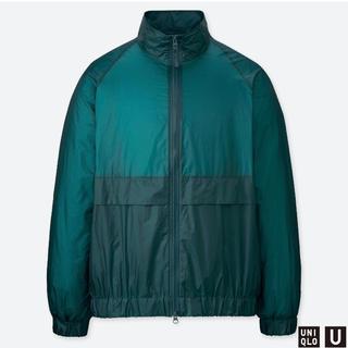 ユニクロ(UNIQLO)の美品 完売品 UNIQLO U ポケッタブルトラックジャケット(ナイロンジャケット)