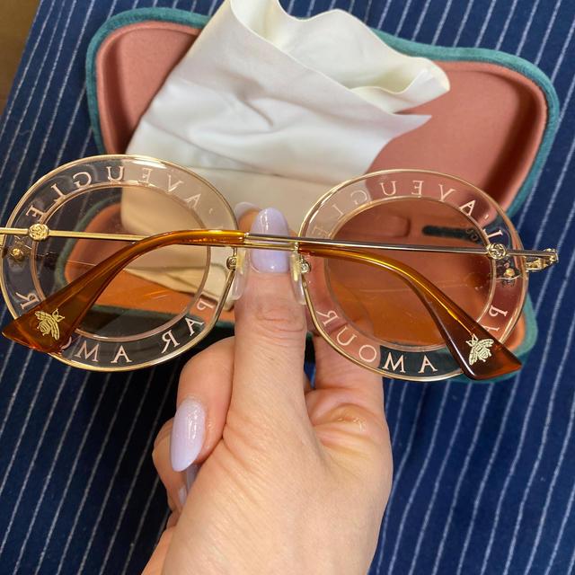 Gucci(グッチ)のgucci/人気サングラス レディースのファッション小物(サングラス/メガネ)の商品写真
