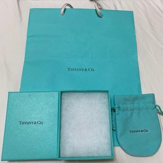 ティファニー(Tiffany & Co.)のTIFFANY ネックレス用BOX、巾着袋(その他)