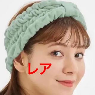 GU - レア♡GU SABON サボンコラボ ミント パイルラウンジヘアバンド