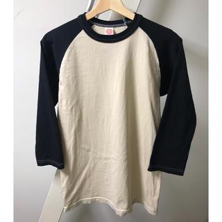 トイズマッコイ(TOYS McCOY)の【eddiy様TOYS McCOYトイズマッコイ ベースボールTシャツ サイズM(Tシャツ/カットソー(七分/長袖))