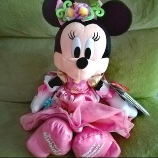 ミニーマウス - 写真の子を送ります! ベリミニ ぬいぐるみ ミニーちゃん ディズニーランド 新品