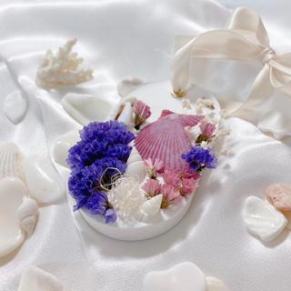 🐚💓貝殻アロマストーン💓🐚(アロマ/キャンドル)