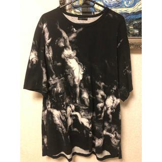 ラッドミュージシャン(LAD MUSICIAN)のLAD MUSICIAN 19ss 天使柄 ビッグTシャツ(Tシャツ/カットソー(半袖/袖なし))
