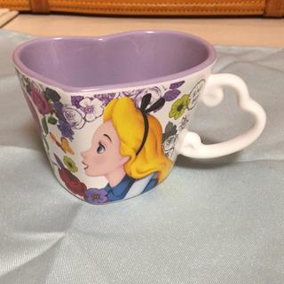 Disney - 不思議の国のアリス ハートマグカップ