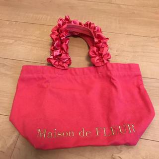 メゾンドフルール(Maison de FLEUR)のフリルトートバッグSサイズ(トートバッグ)