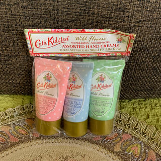 Cath Kidston - キャスキッドソン ハンドクリーム 3個セット ミニサイズ 未使用品