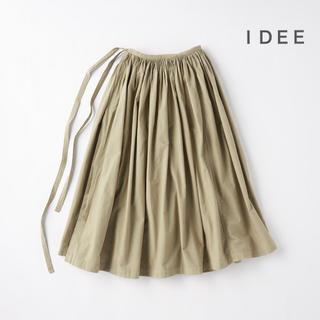 イデー(IDEE)のRin IDEE  POOL  いろいろの服 巻きギャザーエプロン  他(ロングスカート)
