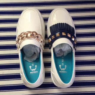 ローズバッド(ROSE BUD)のMARQUI  ROSEBUD  トイシューズ  フラットシューズ(ローファー/革靴)