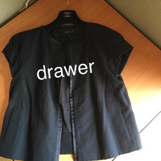 Drawer - ドゥロワー  drawerサマージャケット アドーア プラージュ エンフォルド