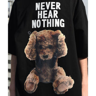 ミルクボーイ(MILKBOY)のXX さん専用 MILK BOY NEVER HEAR BEAR Tシャツ(Tシャツ/カットソー(半袖/袖なし))