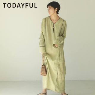 TODAYFUL - todayful Embroidery dress  エンブロイダリー ドレス
