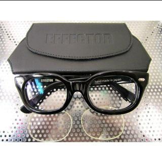 EFFECTOR - EFFECTOR エフェクター fuzz-s BK ブラック 眼鏡 メガネ