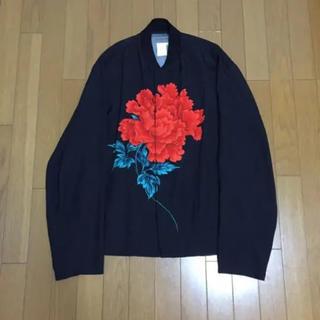 Yohji Yamamoto - ヨウジヤマモト プールオム 花と少年 牡丹 シャツ 96ss