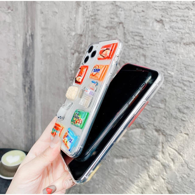 韓国食品サンプル iPhone11pro maxケース☆ スマホ/家電/カメラのスマホアクセサリー(iPhoneケース)の商品写真