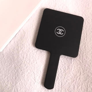 CHANEL - シャネル ノベルティ ミラー ブラック 新品 未使用  4-18