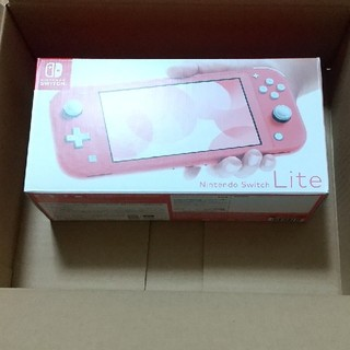 Nintendo Switch - Nintendo Switch Lite コーラル 本体