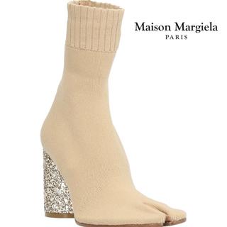 Maison Martin Margiela - 新品未使用 38 正規品 マルジェラ 足袋 ソックス ブーツ グリッター