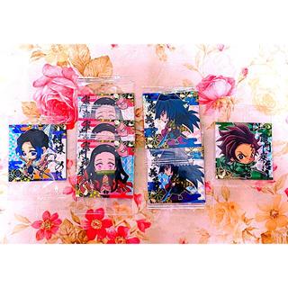 BANDAI - 鬼滅の刃 ウエハース ディフォルメシール スーパーレア 4種 SR バラ売り