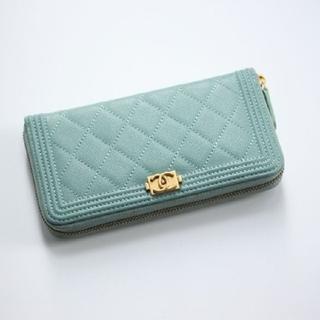 CHANEL - ❤️CHANEL 長財布❤️ミントブルー