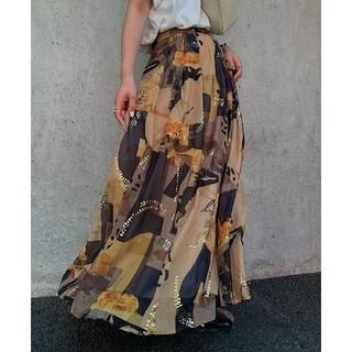 Ameri VINTAGE - 【新品】 アメリヴィンテージ 柄スカート