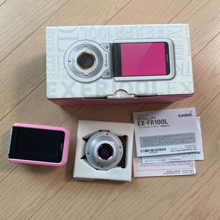 カシオ(CASIO)のCASIO EX-FR100L PK  デジカメ(コンパクトデジタルカメラ)
