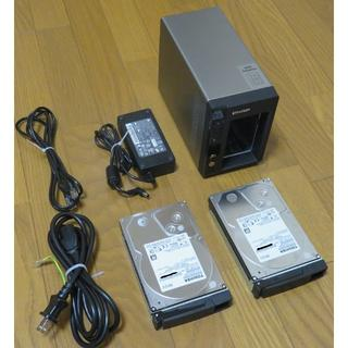 QNAP TS-221 HDD 2TB×2付き