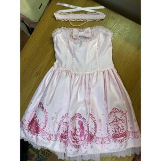 Angelic Pretty - マーメイドシンフォニー ジャンパースカート  チョーカー カチューシャセット