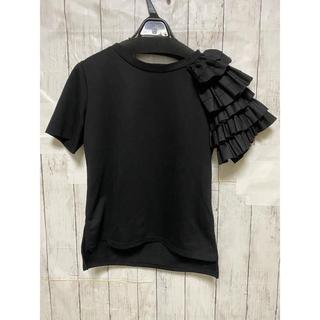 ZARA - バースデーバッシュ フリルTシャツ