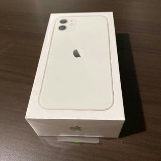 iPhone - iPhone 11 ホワイト 128 GB  SIMフリー
