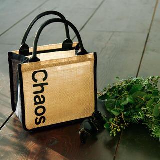 Chaos ジュート素材のバッグ(トートバッグ)