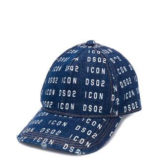 ディースクエアード(DSQUARED2)の【新品未使用】dsquared2 ディースクエアード キャップ 帽子 タグ付き(キャップ)