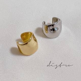 KBF - distro  ear  cuff  ○ silver